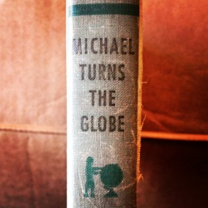 Michael Turns the Globe